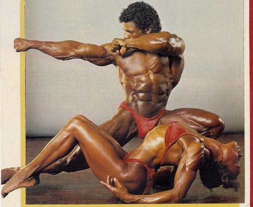 1984 Tony Pearson With Carla Dunlap