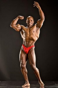 Bodybuilding Competition Posing
